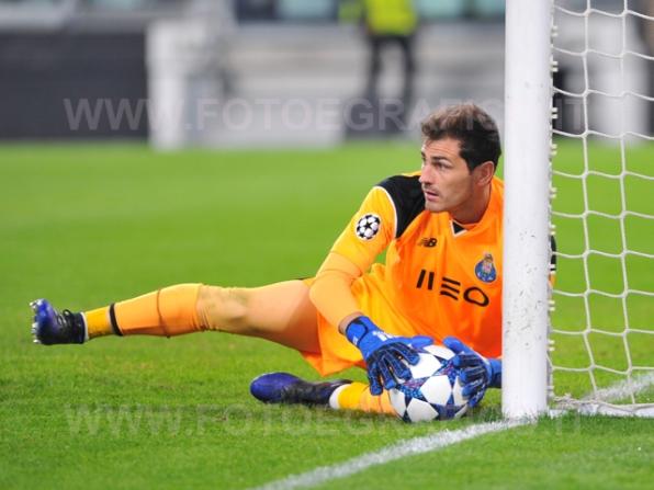 TORINO, ITALIA 14 MARZO 2017 - JUVENTUS STADIUM Champion's League 2016/2017 Quarti di finale - JUVENTUS vs. PORTO NELLA FOTO: Iker Casillas