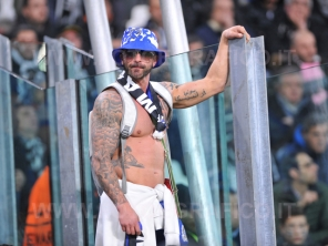 TORINO, ITALIA 14 MARZO 2017 - JUVENTUS STADIUM Champion's League 2016/2017 Quarti di finale - JUVENTUS vs. PORTO NELLA FOTO: tifoso del Porto