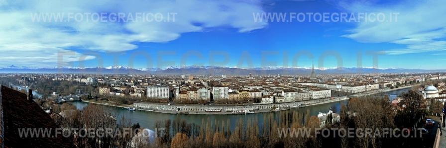 Torino, Panorama dal Museo della Montagna