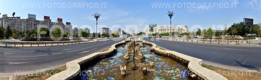 Bucarest, Piața Unirii