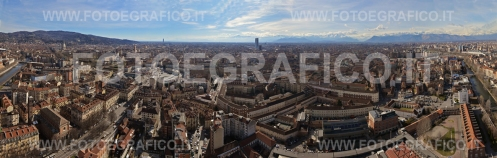 Torino, Panorama dal Turin Eye