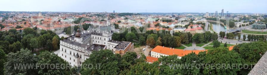 Lituania, Panorama di Vlnius
