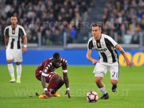 TORINO, ITALIA 6 MAGGIO 2017 - JUVENTUS STADIUM Campionato Serie A Tim 2016/2017 35a giornata - JUVENTUS vs. TORINO NELLA FOTO: Paulo Dybala in azione
