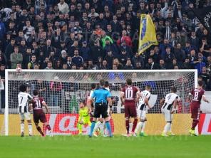TORINO, ITALIA 6 MAGGIO 2017 - JUVENTUS STADIUM Campionato Serie A Tim 2016/2017 35a giornata - JUVENTUS vs. TORINO NELLA FOTO: il gol di Ljajic