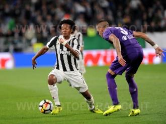 TORINO, ITALIA 20 settembre 2017 - ALLIANZ STADIUM Campionato Serie A Tim 2017/2018 4a giornata - Juventus vs. Fiorentina NELLA FOTO: Juan Cuadrado in azione