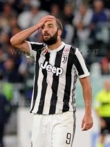 TORINO, ITALIA 20 settembre 2017 - ALLIANZ STADIUM Campionato Serie A Tim 2017/2018 4a giornata - Juventus vs. Fiorentina NELLA FOTO: Higuain disperato