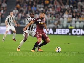 September 23, 2017 in Turin - Allianz Stadium Soccer match Juventus F.C. vs F.C. TORINO In picture: