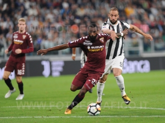 September 23, 2017 in Turin - Allianz Stadium Soccer match Juventus F.C. vs F.C. TORINO In picture: Gonzalo Higuain